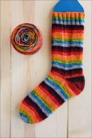 .'Fireside Hearth Song' Vesper Sock Yarn DYED TO ORDER