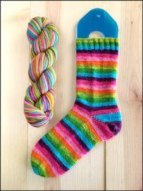 'Sum-Sum-Summertime' Vesper Sock Yarn DYED TO ORDER