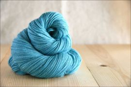 .'Spearmint' February 2020 Semi-Solid Vesper Sock Yarn DYED TO ORDER